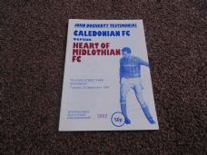 Caledonian v Heart of Midlothian, 1987/88 [Test.]